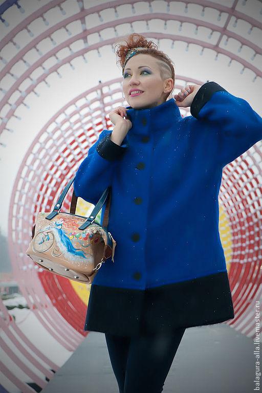 """Женские сумки ручной работы. Ярмарка Мастеров - ручная работа. Купить Сумка """"Снегурочка"""". Handmade. Снегурочка, подарок девушке, роспись"""
