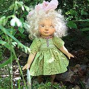 Куклы и игрушки ручной работы. Ярмарка Мастеров - ручная работа Деревянная кукла в смешанной технике Mirabilis. Handmade.