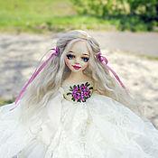 Куклы и пупсы ручной работы. Ярмарка Мастеров - ручная работа Audrey авторская будуарная подвижная интерьерная кукла OOAK. Handmade.