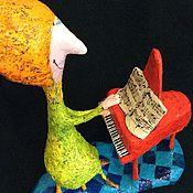 Мягкие игрушки ручной работы. Ярмарка Мастеров - ручная работа Красный Рояль, папье-маше. Handmade.