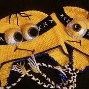 Работы для детей, ручной работы. Ярмарка Мастеров - ручная работа Шапочки Миньоны. Handmade.