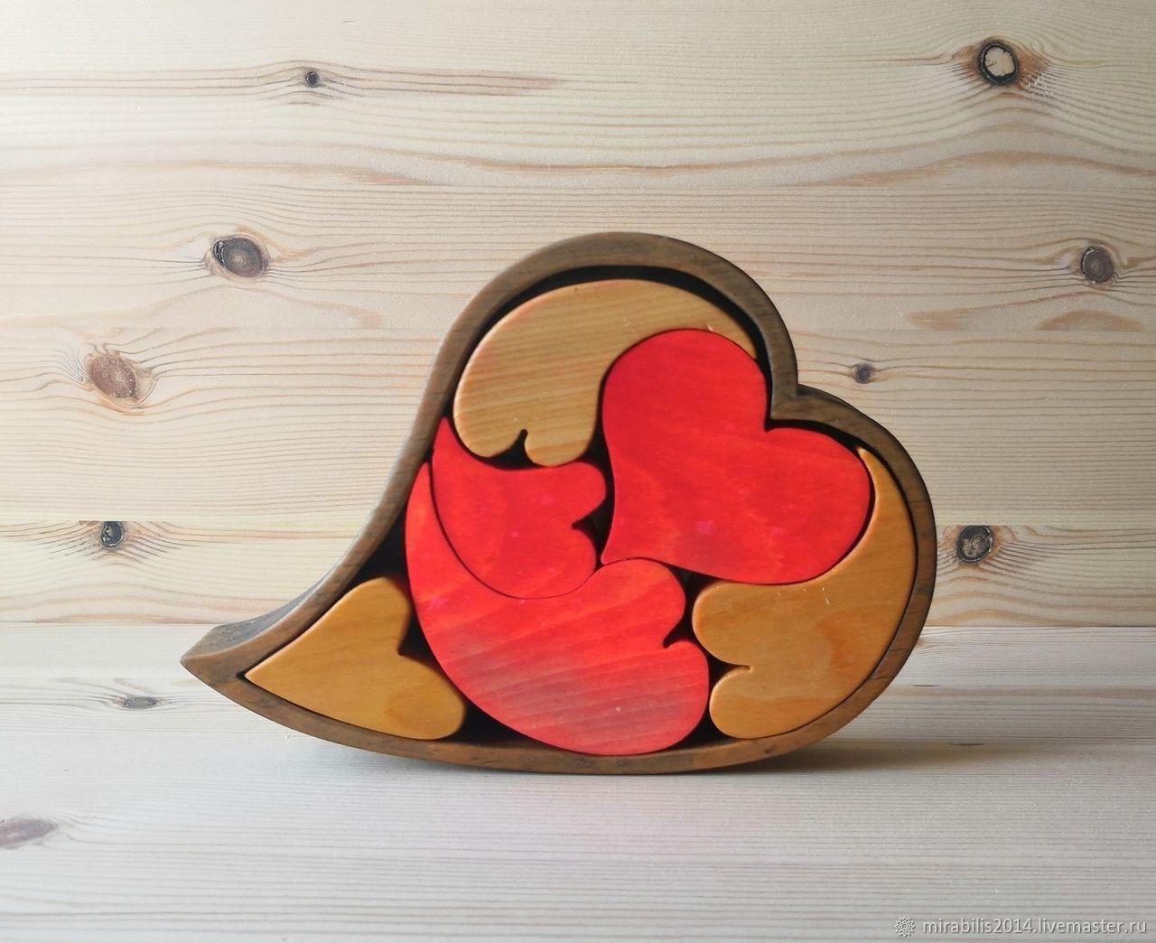 Головоломка Сердце, Подарки на 14 февраля, Томск,  Фото №1