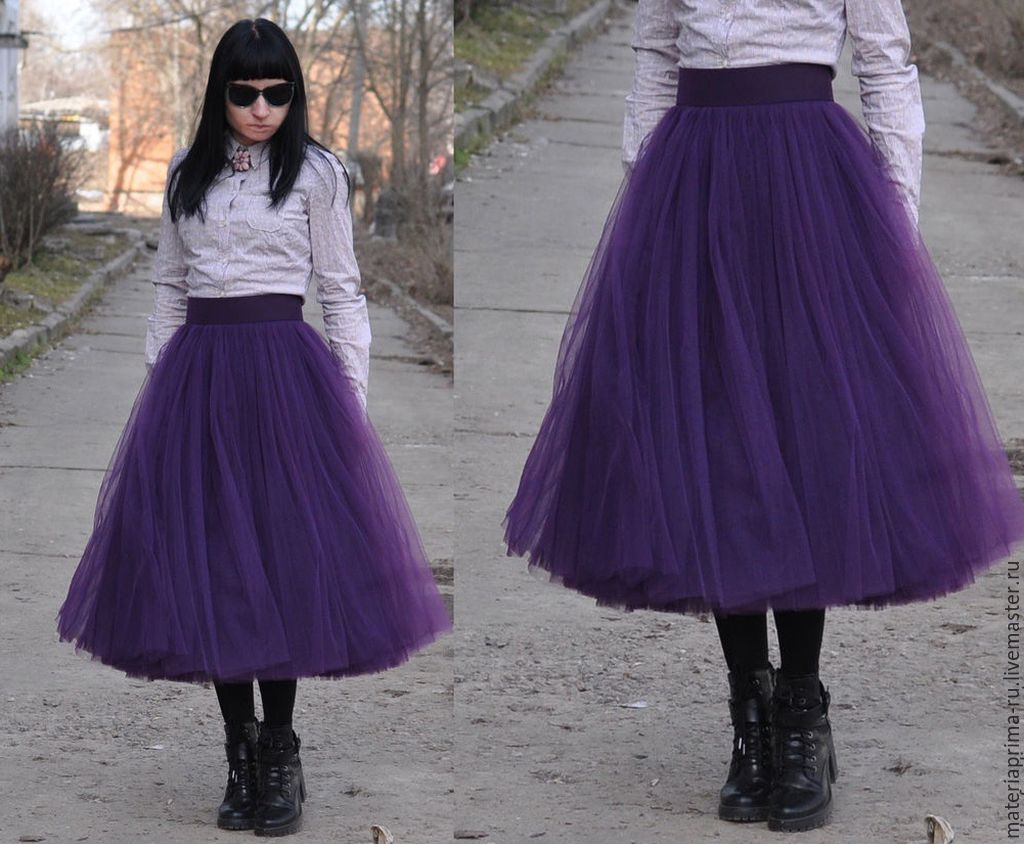 Из чего сшить юбку чтобы она стояла