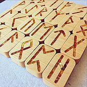 Фен-шуй и эзотерика handmade. Livemaster - original item Scandinavian Runes with Amber. Handmade.