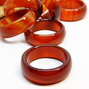 Украшения handmade. Livemaster - original item Ring red-orange agate, dark carnelian 20-20.25. Handmade.