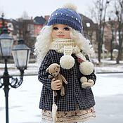 Кукла коллекционная текстильная авторская Алиса