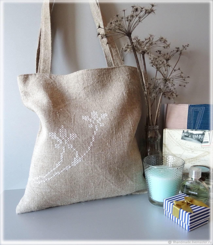 624b0dd694fa ... Сумки и аксессуары ручной работы. Эко-сумка из мешковины 'Тёплое лето'  ...