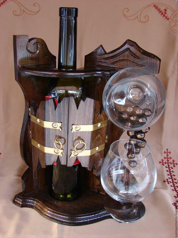 Подставка для бутылки вина своими руками фото 353