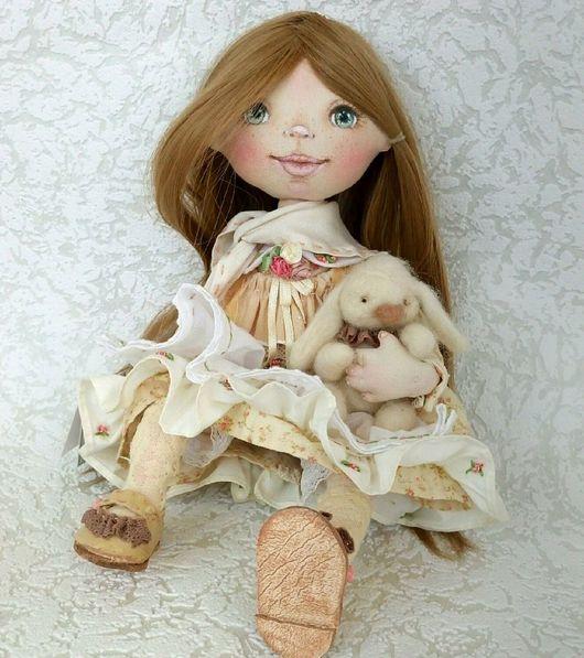 Коллекционные куклы ручной работы. Ярмарка Мастеров - ручная работа. Купить Интерьерная кукла. Работа для примера.. Handmade. Интерьерные куклы