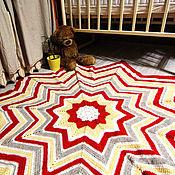 Для дома и интерьера ручной работы. Ярмарка Мастеров - ручная работа Плед-ковер. Handmade.