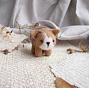 Куклы и игрушки ручной работы. Ярмарка Мастеров - ручная работа Валяная игрушка кот - Cat. Handmade.