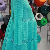 Одежда ручной работы. Ярмарка Мастеров - ручная работа Туника вязаная №35 для беременных.. Handmade.