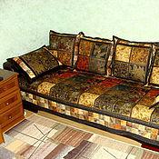 """Для дома и интерьера ручной работы. Ярмарка Мастеров - ручная работа Комплект для дивана """"Элегантные узоры"""". Handmade."""