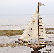 Подарки к праздникам ручной работы. Ярмарка Мастеров - ручная работа кораблик. Handmade.