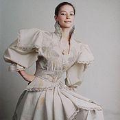 Одежда ручной работы. Ярмарка Мастеров - ручная работа Платье Принцесса Греза. Handmade.