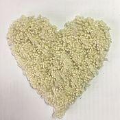 Материалы для творчества handmade. Livemaster - original item Nepsy wool -10 gr. natural white. Italy. Handmade.