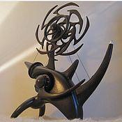 """Скульптуры ручной работы. Ярмарка Мастеров - ручная работа Кинетическая скульптура """"Носорог"""". Handmade."""