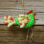 Куклы и игрушки ручной работы. Ярмарка Мастеров - ручная работа Петушок - символ года. Handmade.