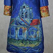 """Одежда ручной работы. Ярмарка Мастеров - ручная работа туника валяная """"Старый замок"""".. Handmade."""