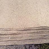 Материалы для творчества ручной работы. Ярмарка Мастеров - ручная работа Ситниковая бумага для письма ручного литья. Handmade.