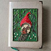 Канцелярские товары handmade. Livemaster - original item Notepad Magic forest handmade. A5. Notepad from scratch.. Handmade.