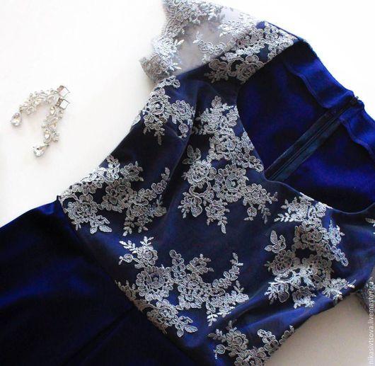 Платья ручной работы. Ярмарка Мастеров - ручная работа. Купить Вечернее платье. Handmade. Вырез сердечко, кружево, вечернее платье