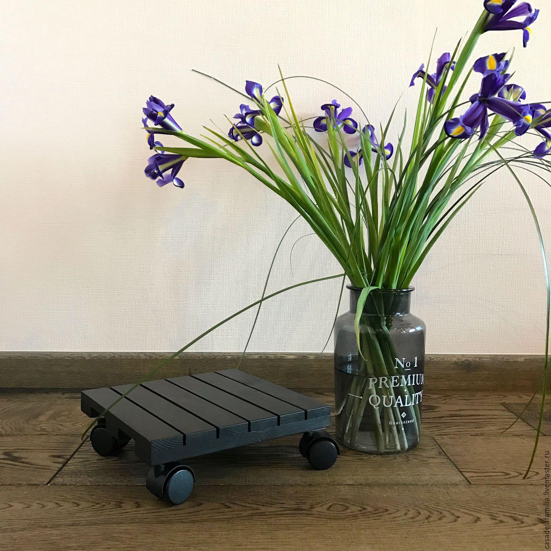 Подставка для цветов на колесиках, Подставки, Москва, Фото №1