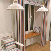 Для дома и интерьера ручной работы. Ярмарка Мастеров - ручная работа Шторы с римской и матрасики с подушками в стиле Прованс. Handmade.