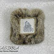 Для дома и интерьера ручной работы. Ярмарка Мастеров - ручная работа Шкатулка с мехом Волк. Handmade.