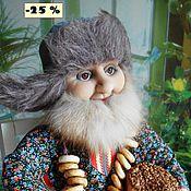 Куклы и игрушки ручной работы. Ярмарка Мастеров - ручная работа - 25 %   СТЕПАНЫЧ  текстильная кукла. Handmade.