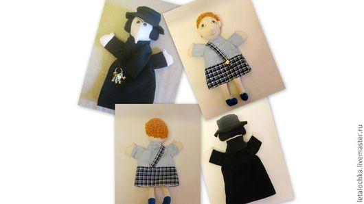 Кукольный театр ручной работы. Ярмарка Мастеров - ручная работа. Купить Тюремщик и мальчик (кукла-перчатка). Handmade. Кукла-перчатка