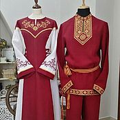 Одежда handmade. Livemaster - original item Set Wedding. Handmade.