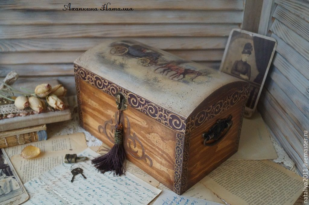 'Journey' chest, Box, Ruza,  Фото №1