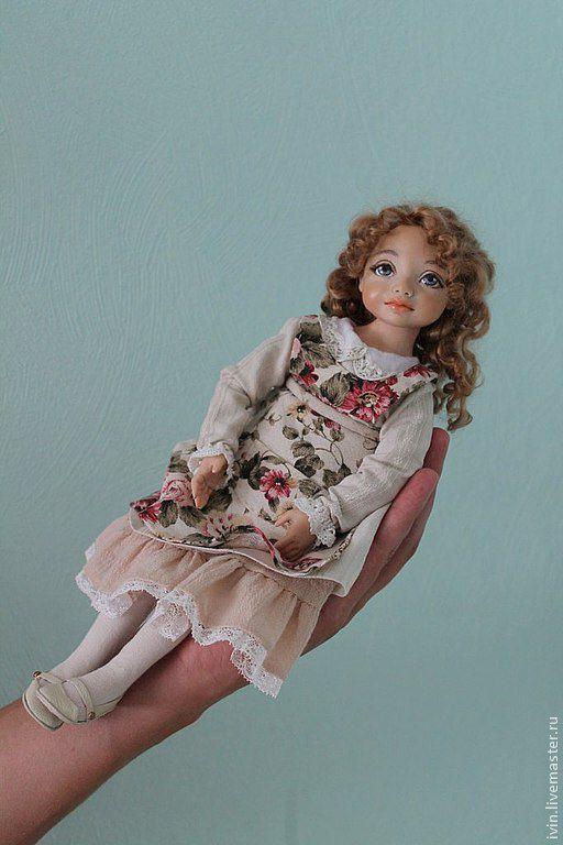 Коллекционные куклы ручной работы. Ярмарка Мастеров - ручная работа. Купить Стеша (подвижная кукла).По мотивам Устала.. Handmade.