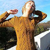 Одежда ручной работы. Ярмарка Мастеров - ручная работа Джемпер Дорожки-тропинки. Handmade.