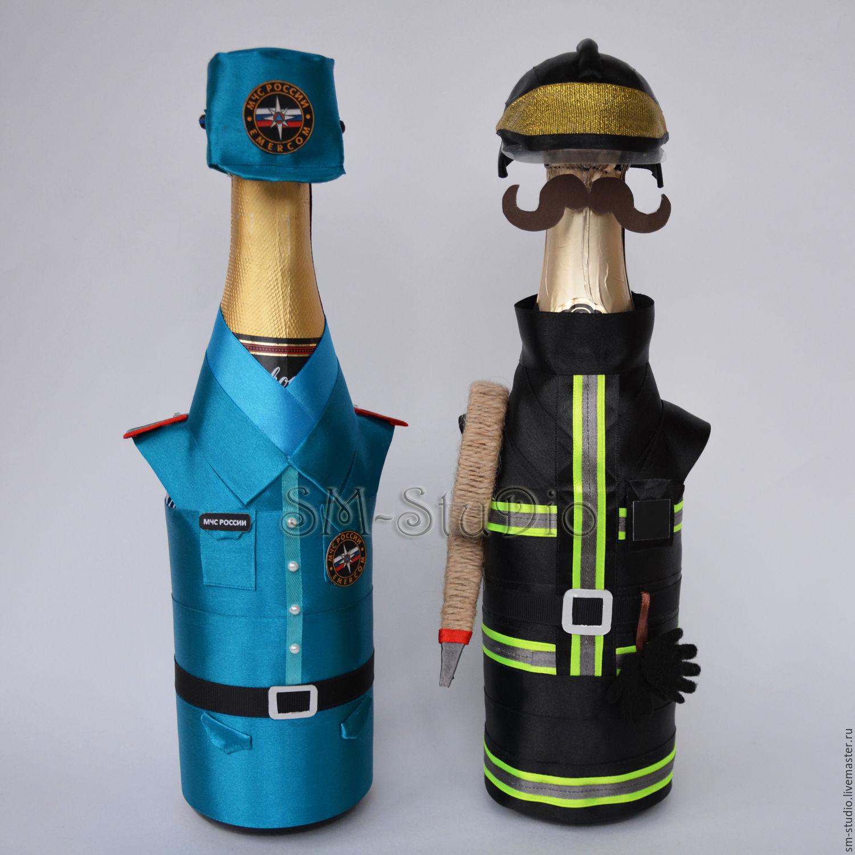 Подарок своими руками пожарному
