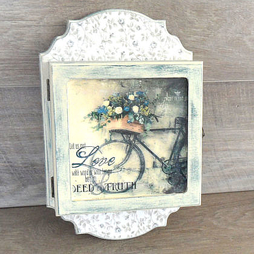 For home and interior handmade. Livemaster - original item The housekeeper Bike, Provence....... Handmade.