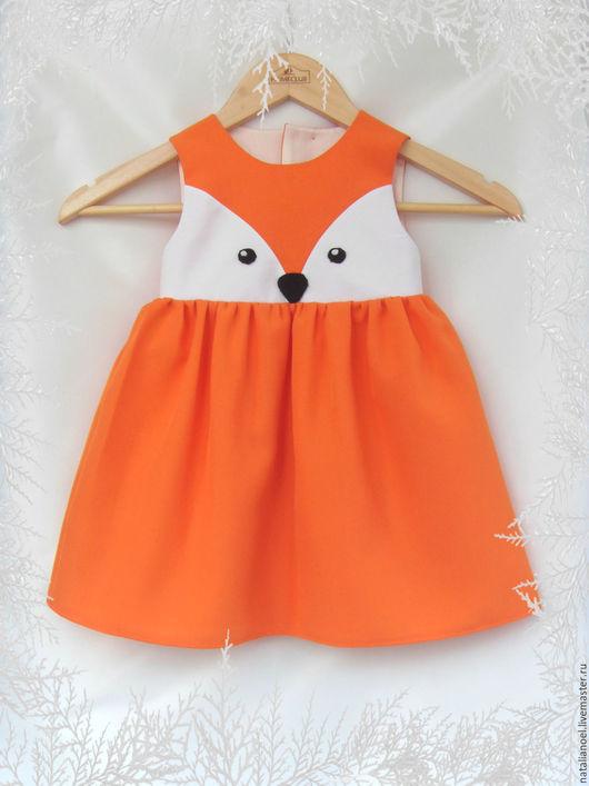 Одежда для девочек, ручной работы. Ярмарка Мастеров - ручная работа. Купить Новогодний костюм лисички. Handmade. Новогоднее платье, лисичка