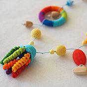 """Одежда ручной работы. Ярмарка Мастеров - ручная работа Слингобусы """"Радуга в море"""". Handmade."""