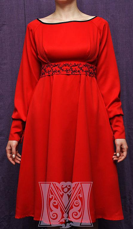 Платья ручной работы. Ярмарка Мастеров - ручная работа. Купить Нежное платье. Handmade. Платье, вышивка