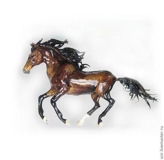 """Статуэтки ручной работы. Ярмарка Мастеров - ручная работа. Купить статуэтка """"Лошадка породы Ганновер"""" (по фотографии конкретной лошадки). Handmade."""