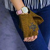 Аксессуары handmade. Livemaster - original item Copy of Copy of Arm warmwers. Handmade.