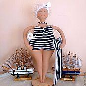 """Куклы и игрушки ручной работы. Ярмарка Мастеров - ручная работа Кукла Матильда """"В отпуск хочу"""". Handmade."""
