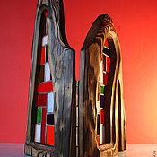 Для дома и интерьера ручной работы. Ярмарка Мастеров - ручная работа настольная ширма. Handmade.
