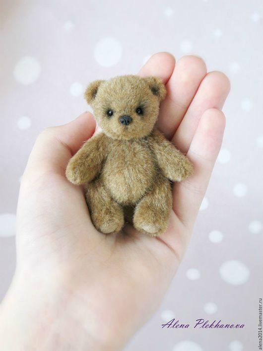 Мишки Тедди ручной работы. Ярмарка Мастеров - ручная работа. Купить Медвежонок 7,5 см. Handmade. Тедди