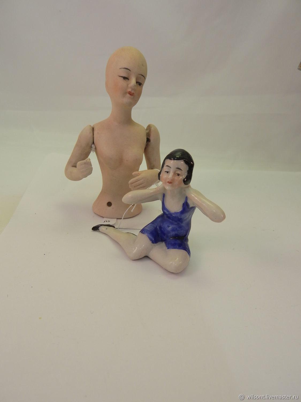 Mini Collection Of Two Vintage Porcelain Dolls 2 Shop Online On