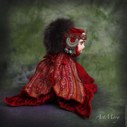 Коллекционные куклы ручной работы. Ярмарка Мастеров - ручная работа. Купить Мариетта. Handmade. Мариетта, artmary, шелк, гранулят