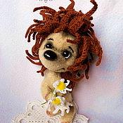 Куклы и игрушки handmade. Livemaster - original item Tryam-hedgehog. Handmade.