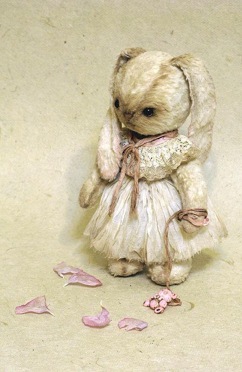 Мишки Тедди ручной работы. Ярмарка Мастеров - ручная работа. Купить Лека. Handmade. Комбинированный, зайка, зайка девочка
