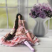 Куклы Тильда ручной работы. Ярмарка Мастеров - ручная работа Тильда-ангел: кукла Оливия в стиле бохо. Handmade.